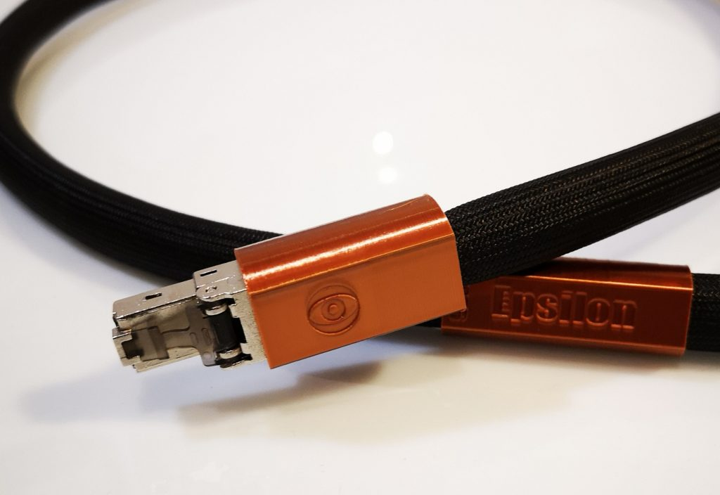 Epsilon Ethernet Numérique Digital Odeion Cables (détail)