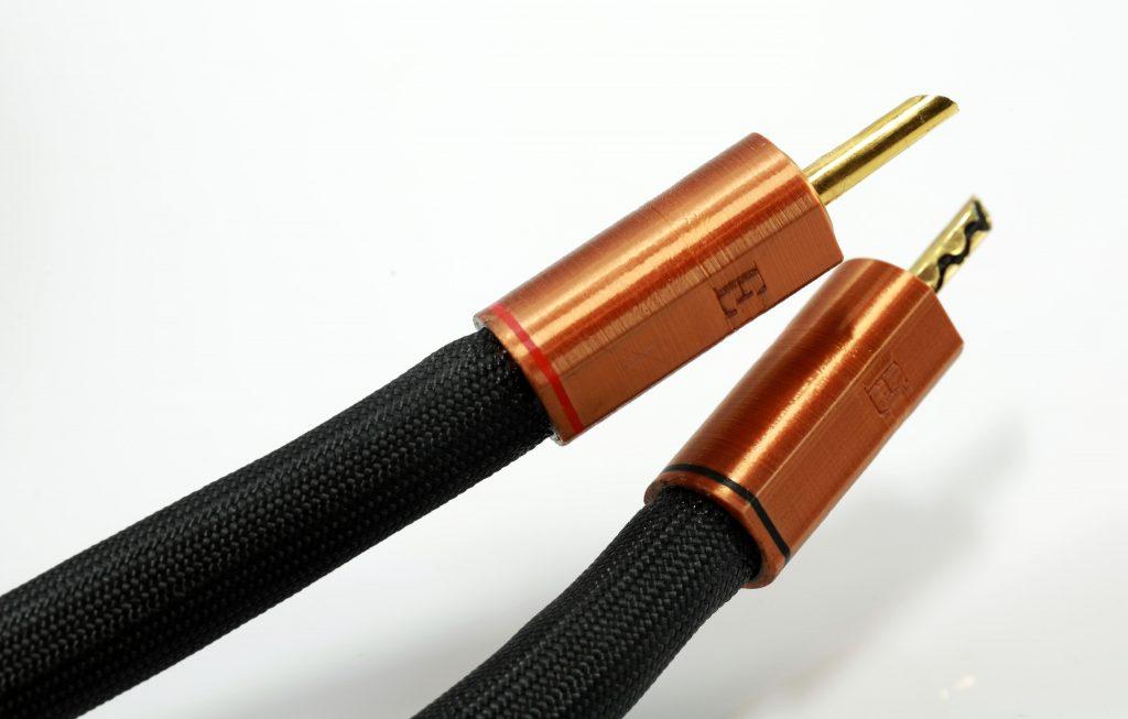 Epsilon câble d'enceintes HP speaker Odeion Cables (détail)