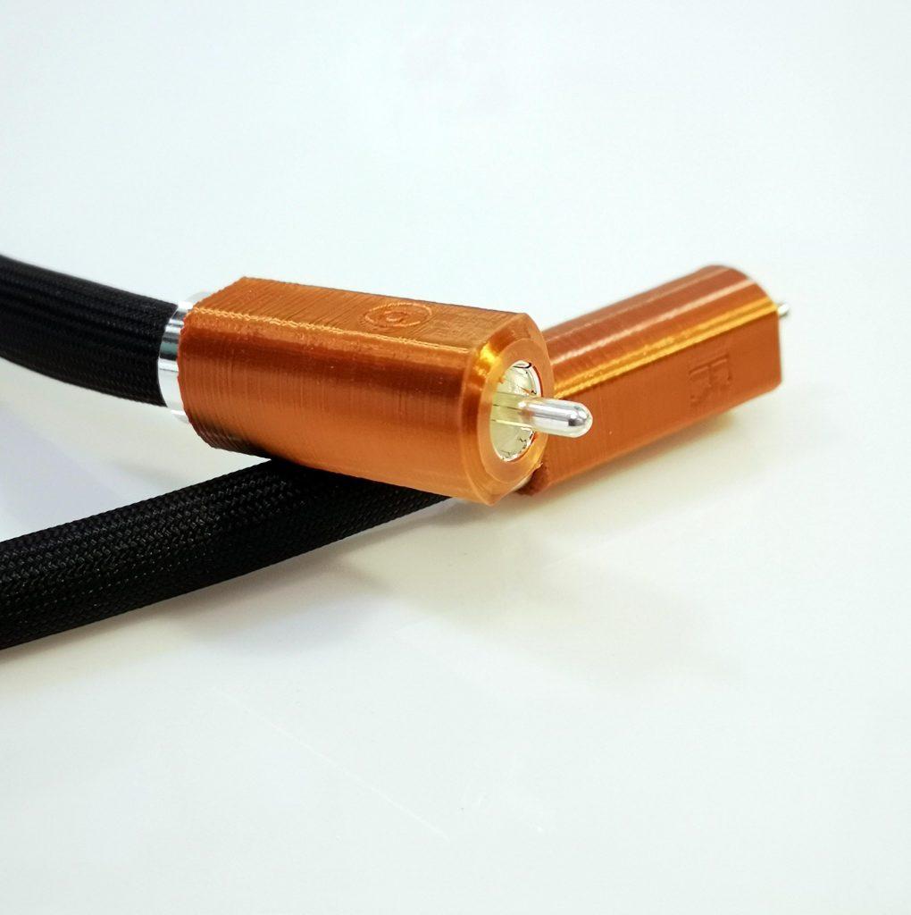 Epsilon numérique SPDIF RCA Digital Odeion Cables (détail)