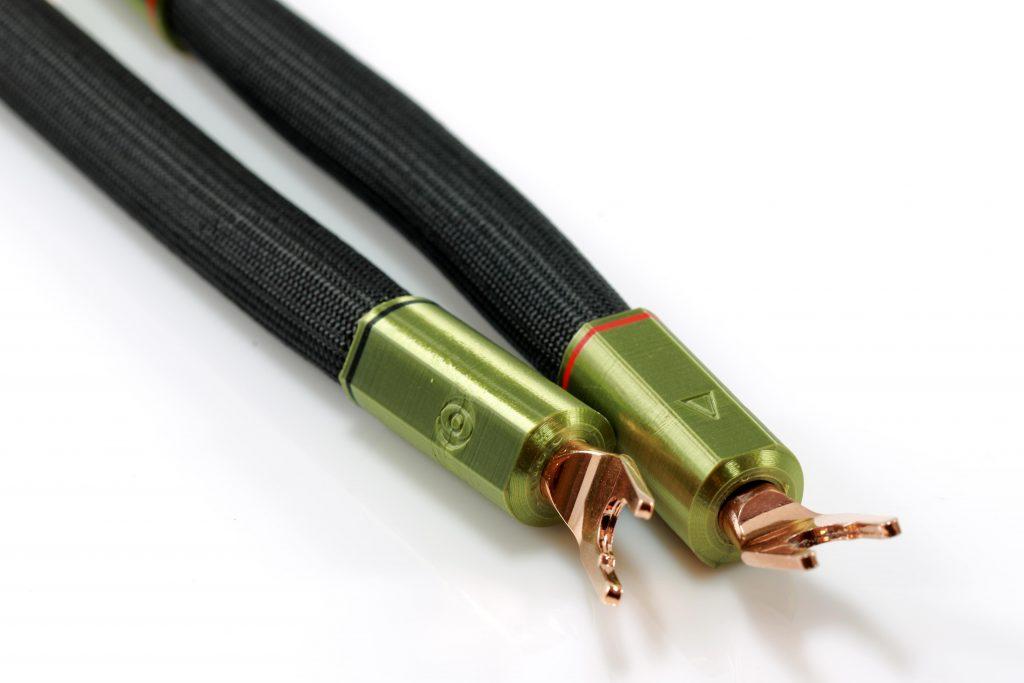 Delta Cavaliers de borniers d'enceintes HP straps Odeion Cables (détail)