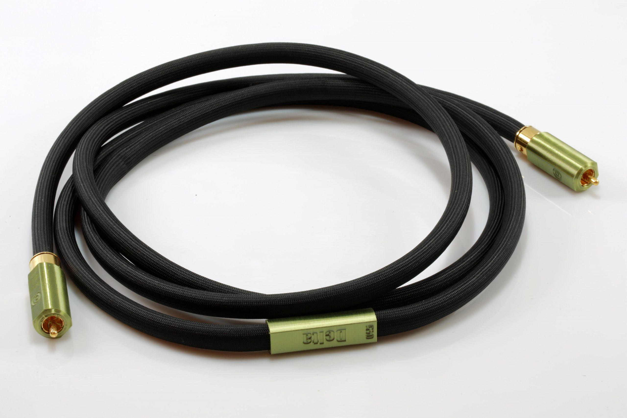 Delta modulation mono rca sub graves basses odeion cables