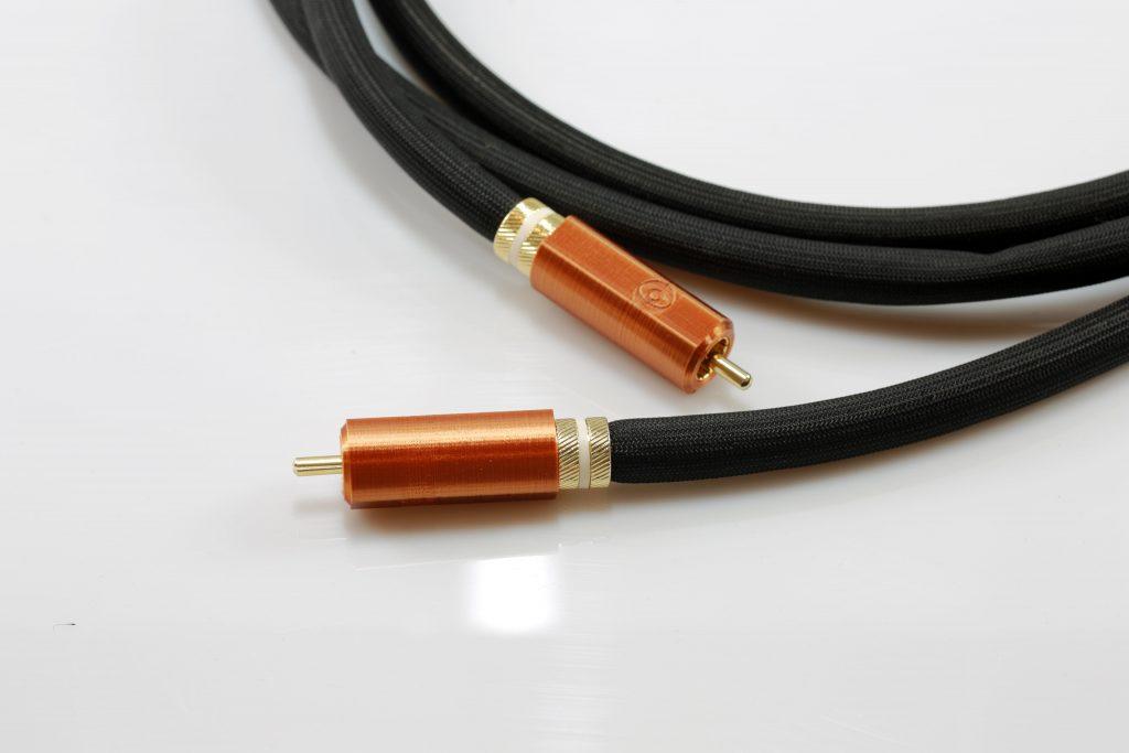 Epsilon modulation mono sub graves basses rca Odeion Cables (détail)