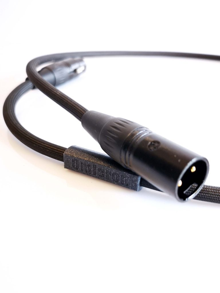 Omicron Numérique AES-EBU XLR Digital Odeion Cables (détail)