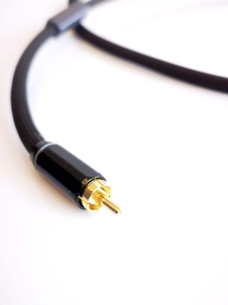 Omicron Numérique SPDIF RCA Digital Odeion Cables (détail)