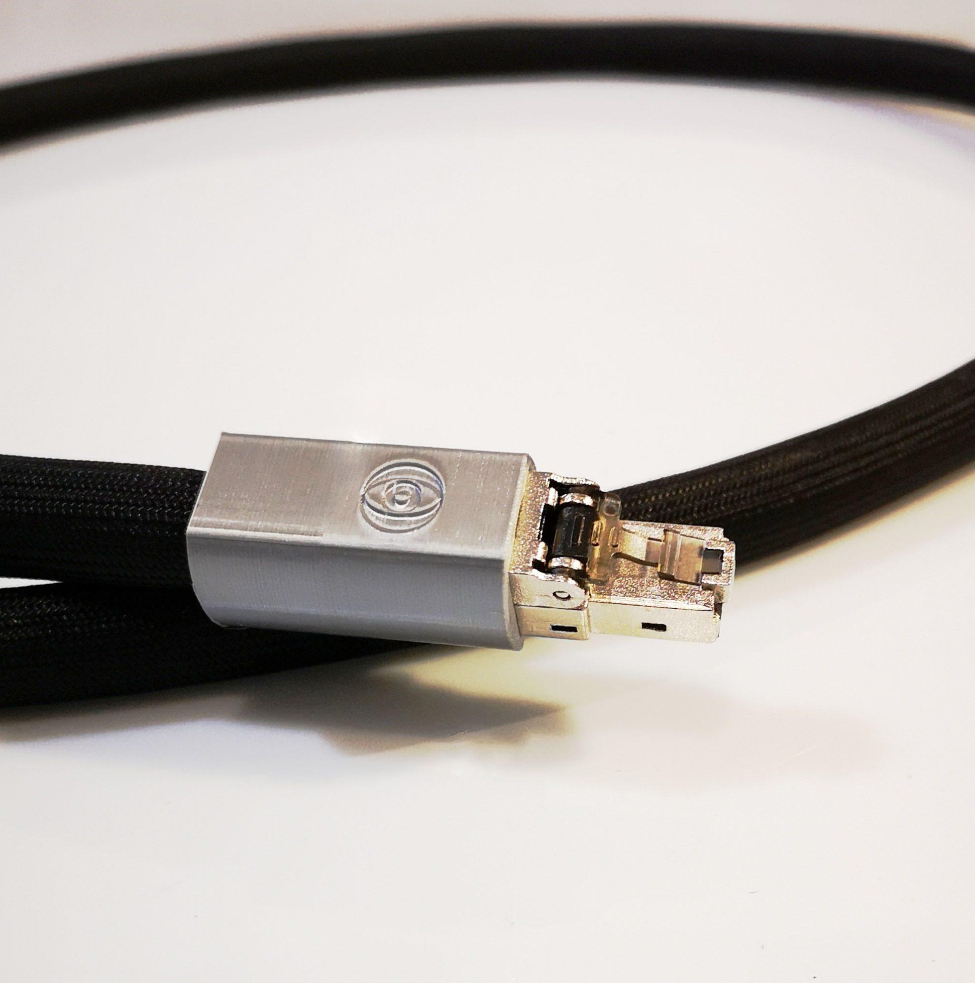 Sigma Ethernet Numérique Digital Odeion Cables (détail)
